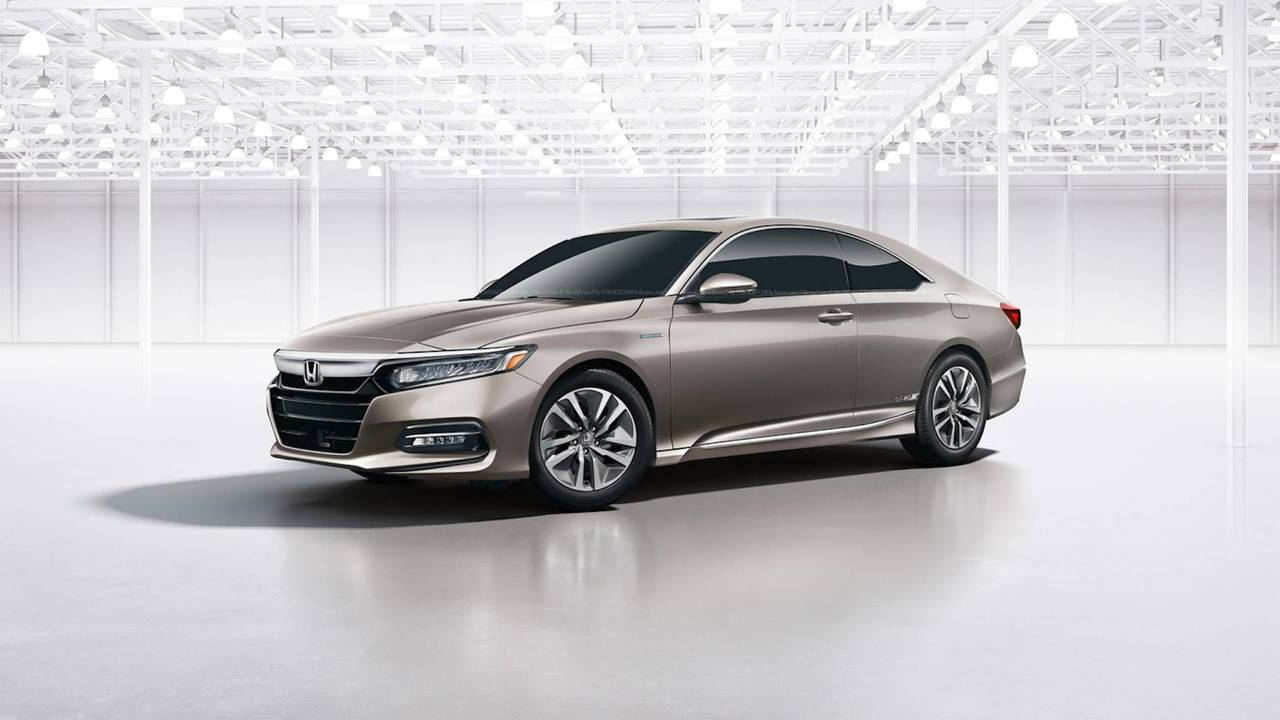 2018 Honda Accord Coupe Rendering