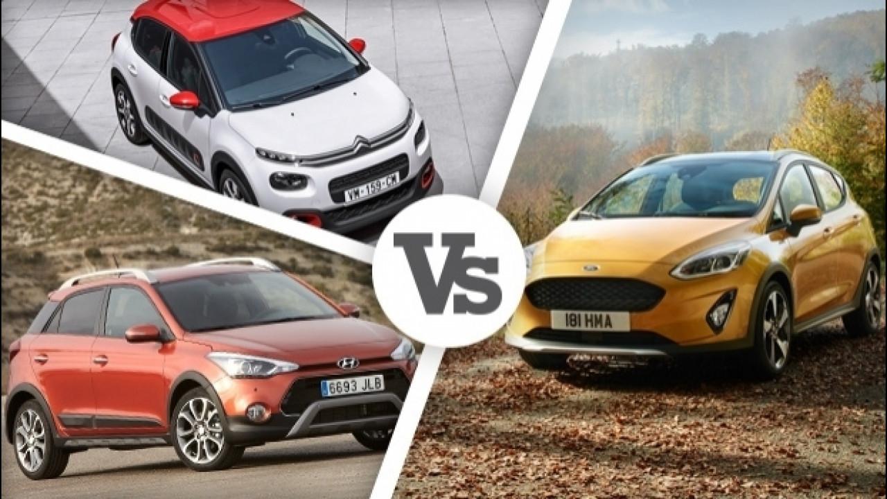 [Copertina] - Ford Fiesta Active e le altre, cresce la febbre da SUV