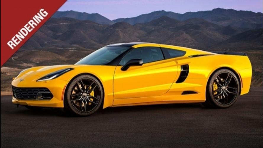 Nuova Chevrolet Corvette, col motore centrale cambia profilo