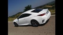 Lexus RC Hybrid, test di consumo reale Roma-Forlì 021