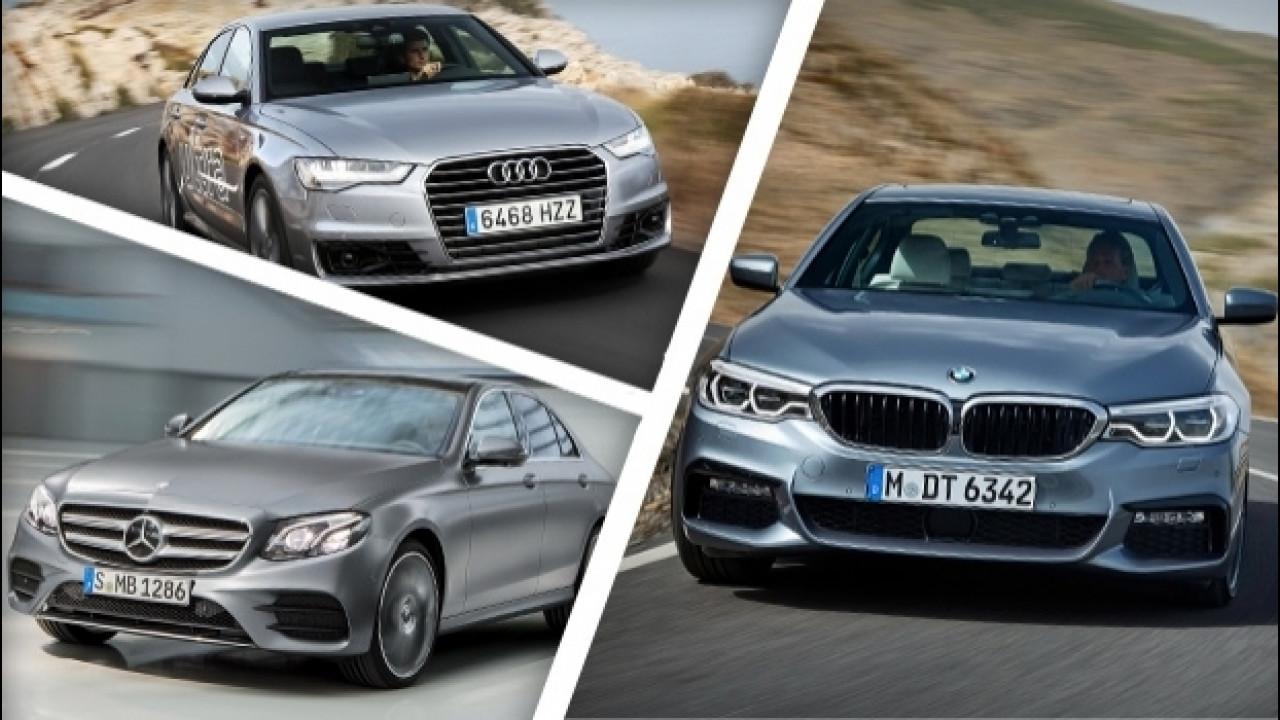 [Copertina] - BMW Serie 5 e le altre, le berline preferite dagli italiani