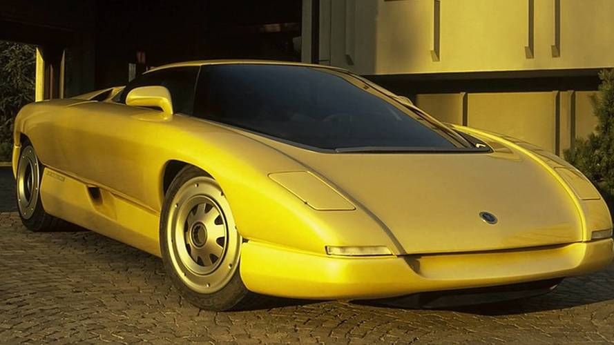 1990 Bertone Corvette Nivola: Concept We Forgot