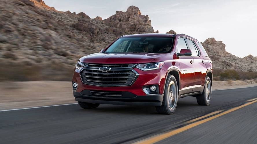 Chevy Traverse Ditches 2.0-Liter Turbo-Four Engine