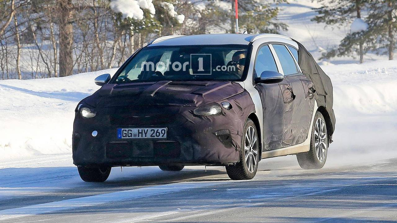Kia Cee'd Sportswagon Spy Photos
