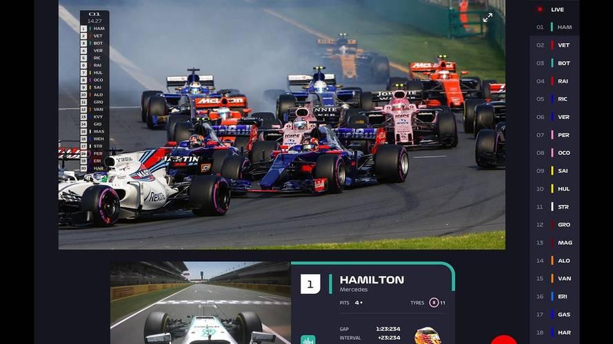 La F1 présente son service de streaming des Grands Prix