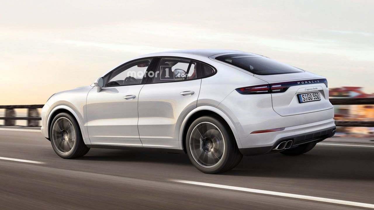 Porsche Cayenne Coupe tasarım yorumu
