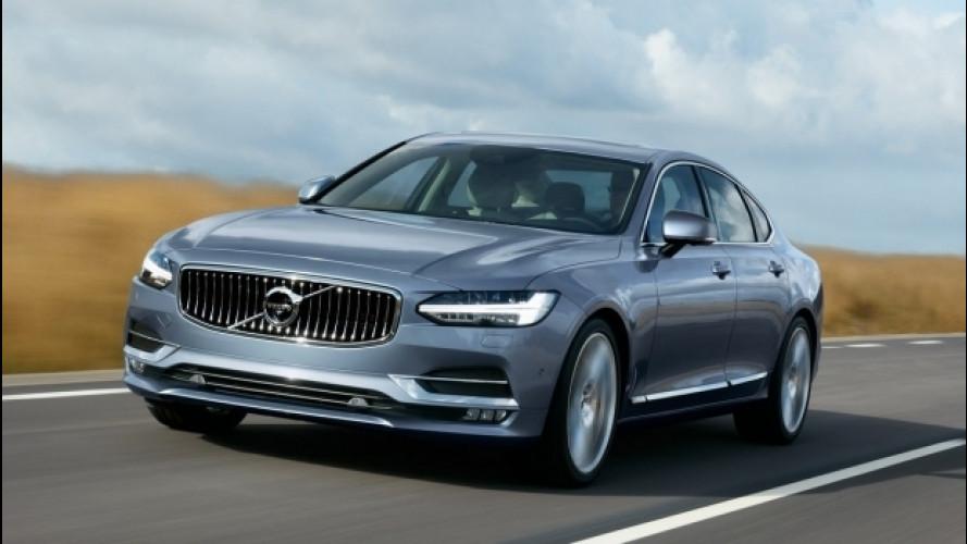 Volvo S90, fra hi-tech, lusso e comfort