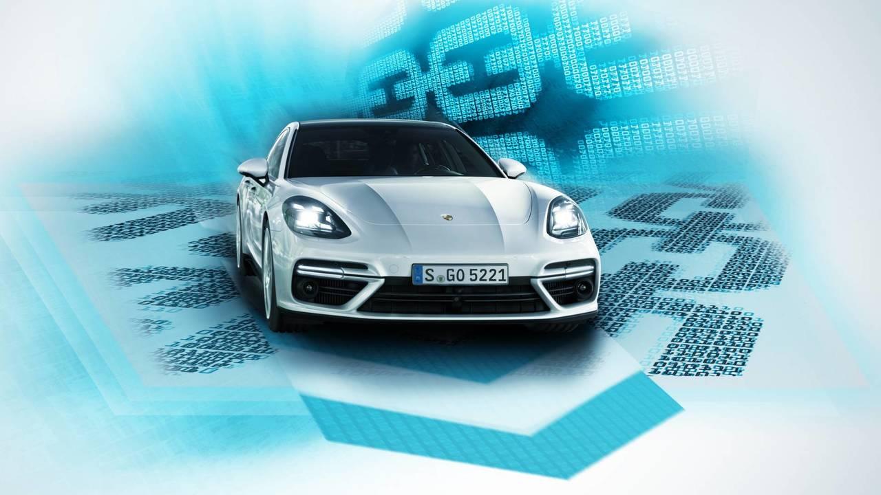 Copertina Porsche Blockchain