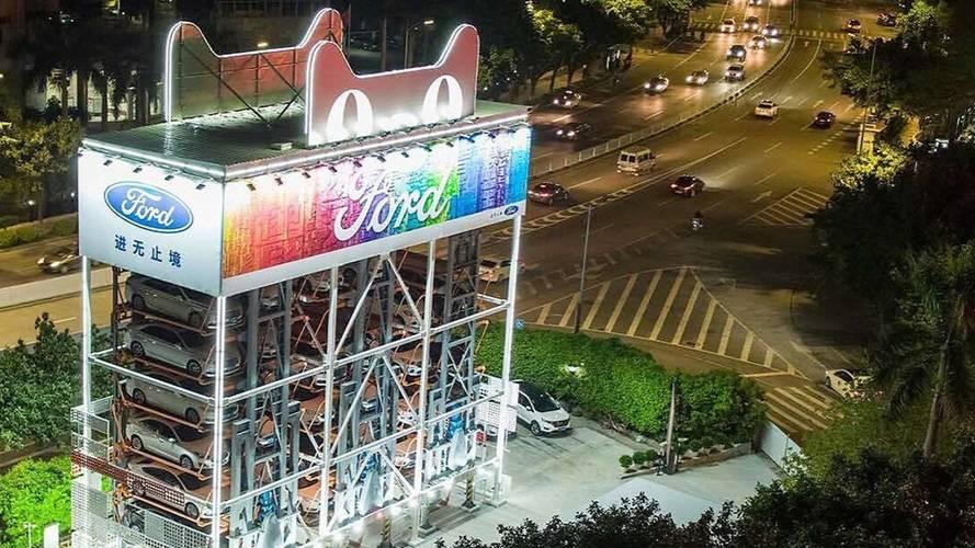 Alibaba lance son distributeur de voitures !