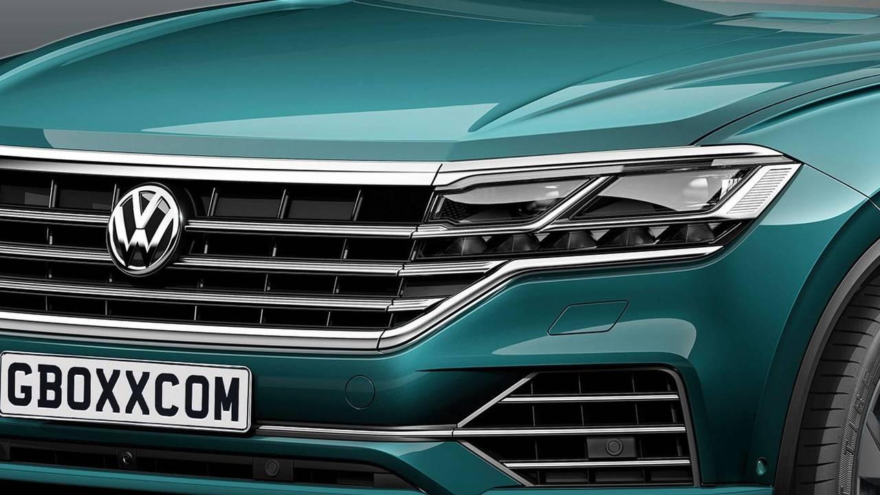 VW Touareg SUV Coupe Tasarım Yorumu
