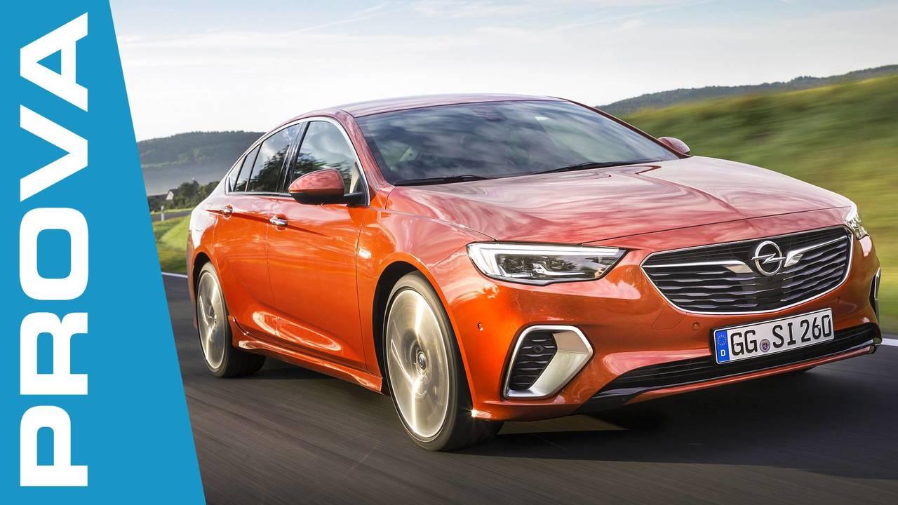 Opel Insignia GSi, la prova