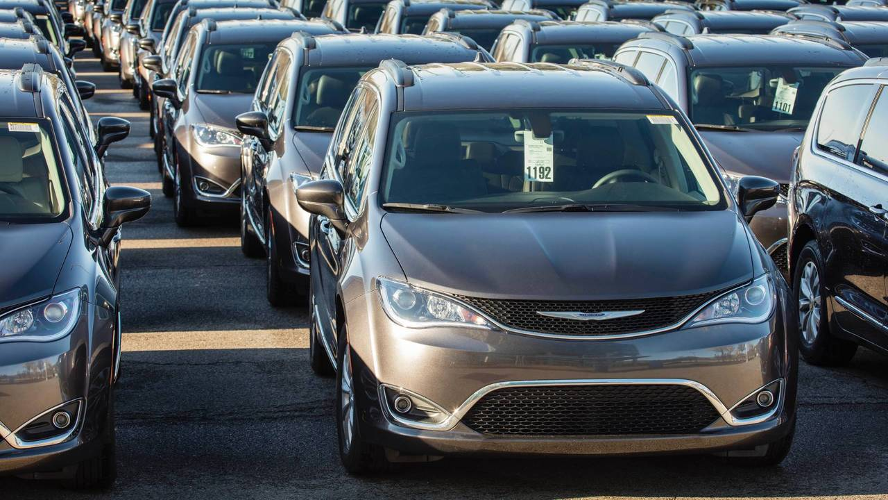 2017 Chrysler Pacifica Recall