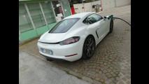 Porsche 718 Cayman, test di consumo reale Roma-Forlì 035