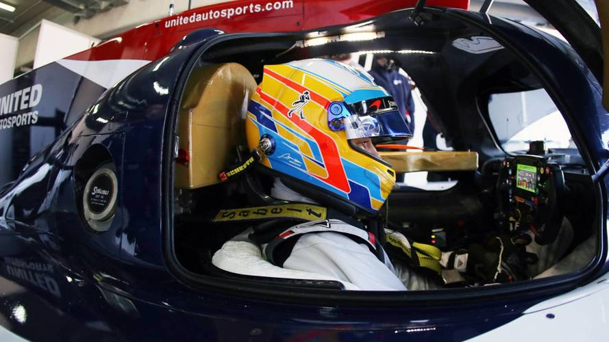 "Alonso ""Out Of My Comfort Zone"" In Daytona 24 Hours"