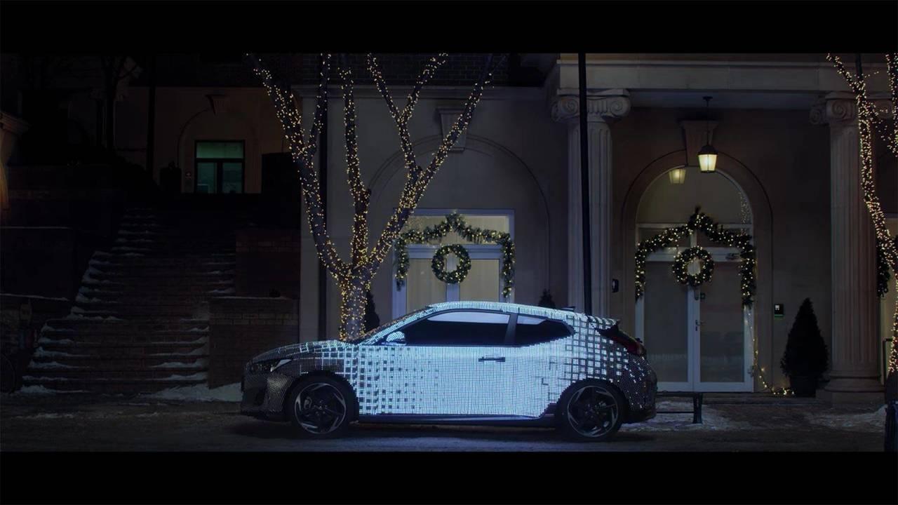 Hyundai Veloster 2018 teaser