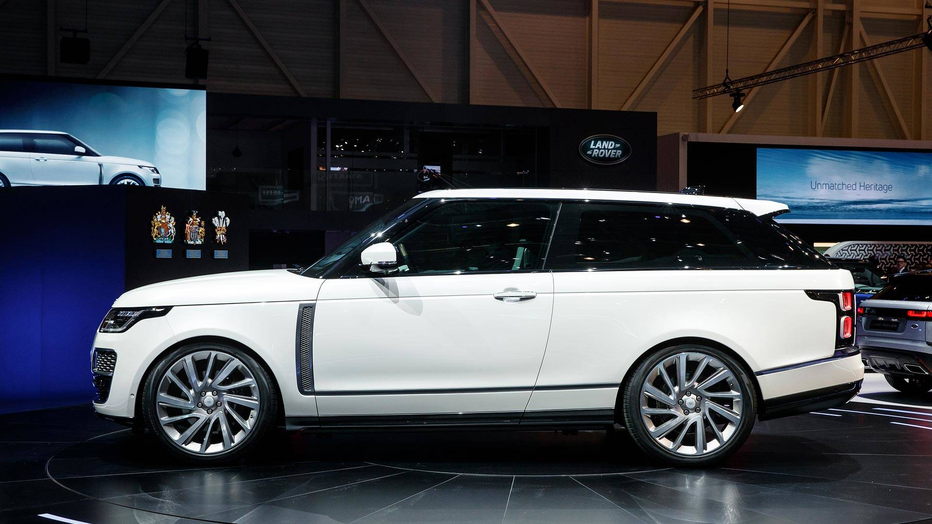 Range Rover Sv Coupe Is An Ultra Expensive Two Door Suv