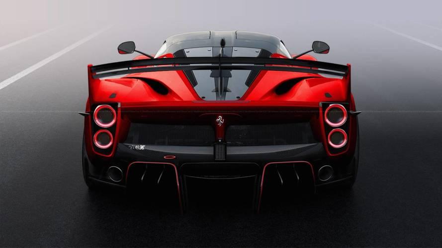 Ferrari FXX K Evo versión de calle