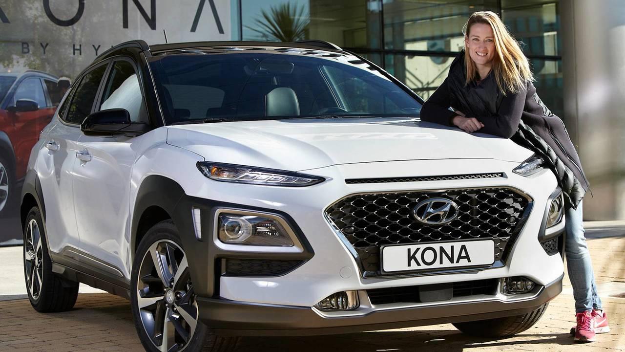 Hyundai Kona 2018 y Mireia Belmonte