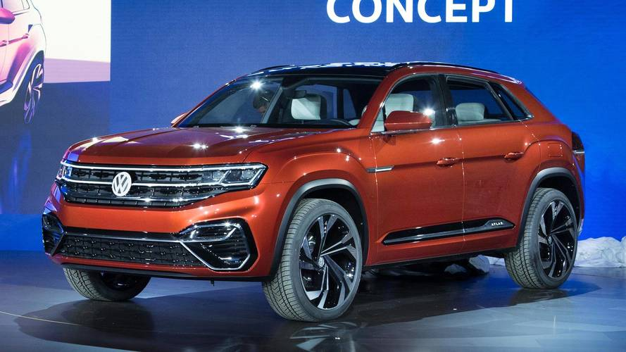 Volkswagen dévoile l'Atlas Cross Sport concept à New York