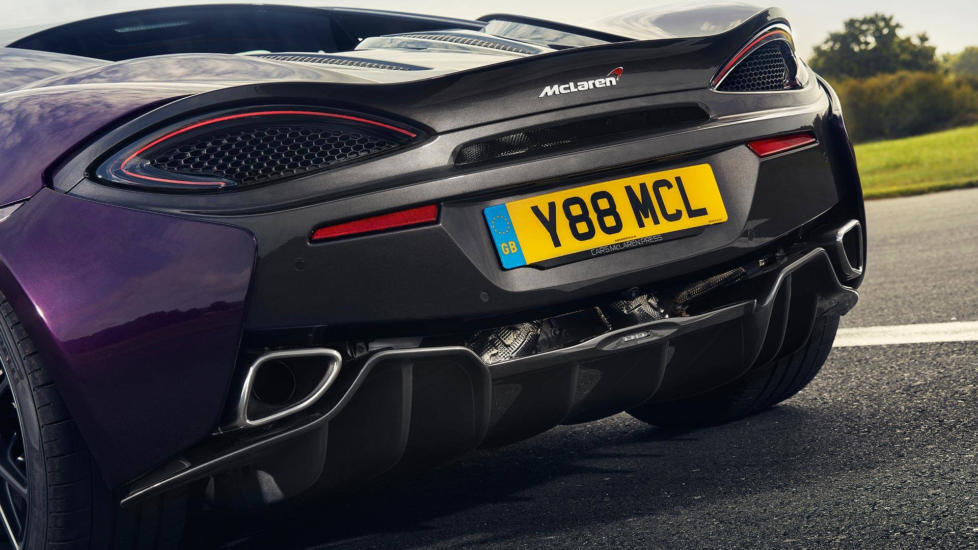 Mclaren S New Titanium Exhaust Plays Music To Our Ears