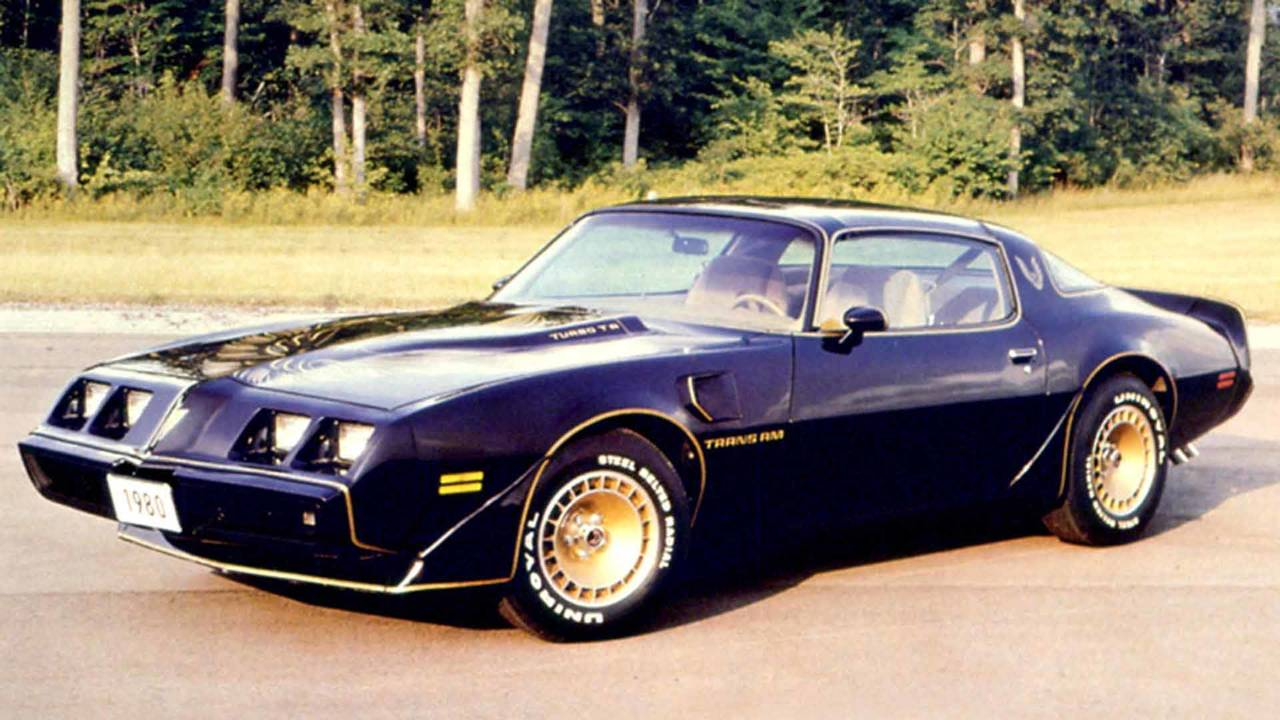1980 Pontiac Trans-Am Turbo