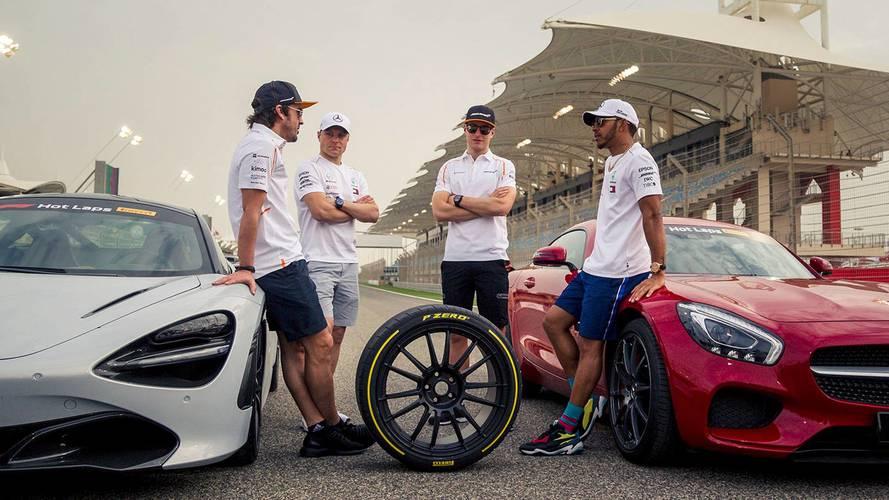 Galería: 'Hot laps', el espectacular nuevo show de Pirelli y la F1