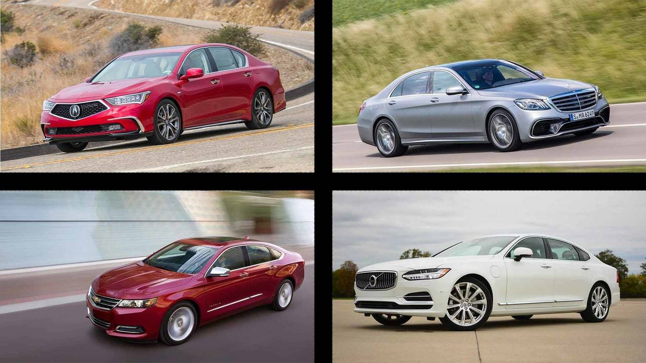 7 Good Reasons To Buy These 7 Full-Size Sedans Lead