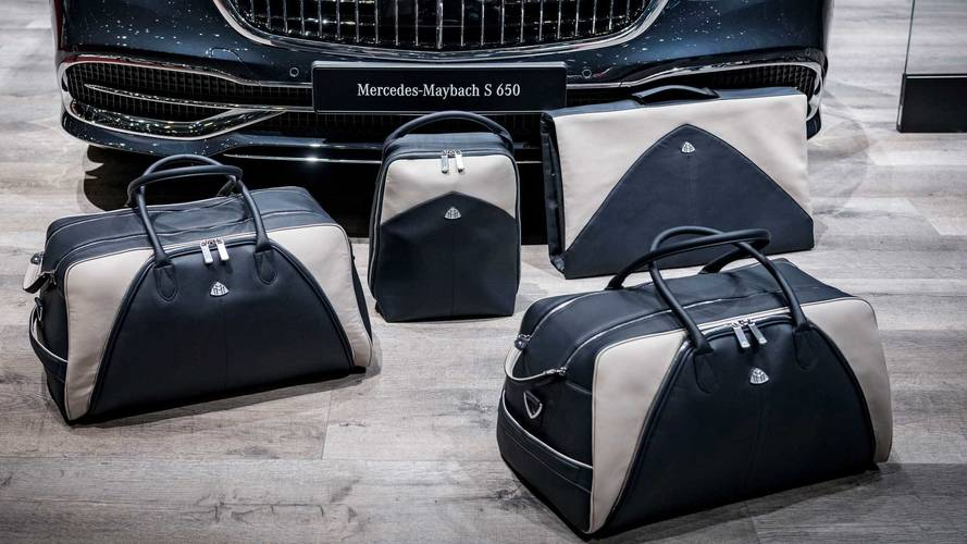 Mercedes-Maybach luggage and accessories