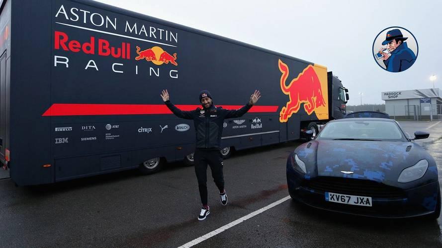 Daniel Ricciardo - Aston Martin DB11