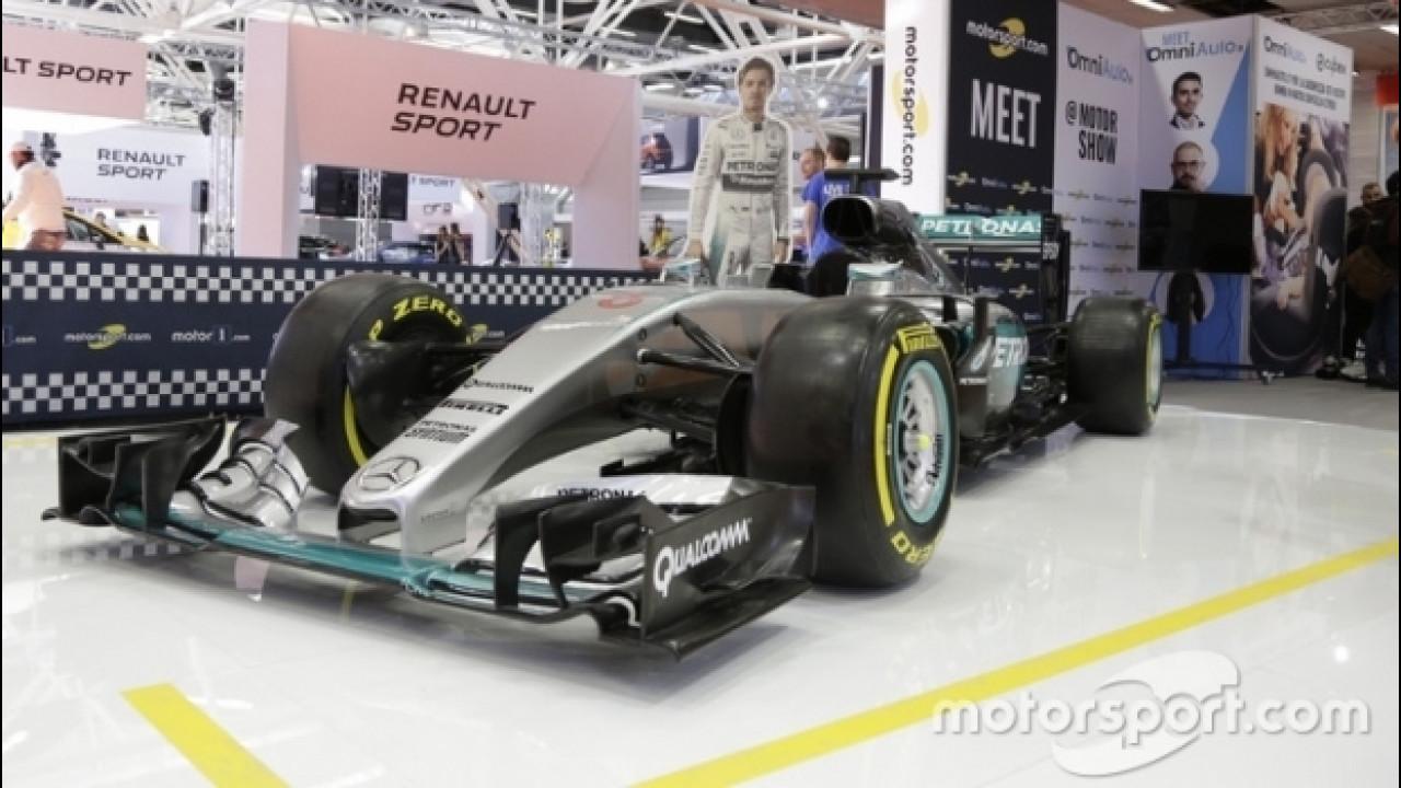 [Copertina] - Motor Show 2016, c'è anche la Mercedes di Rosberg