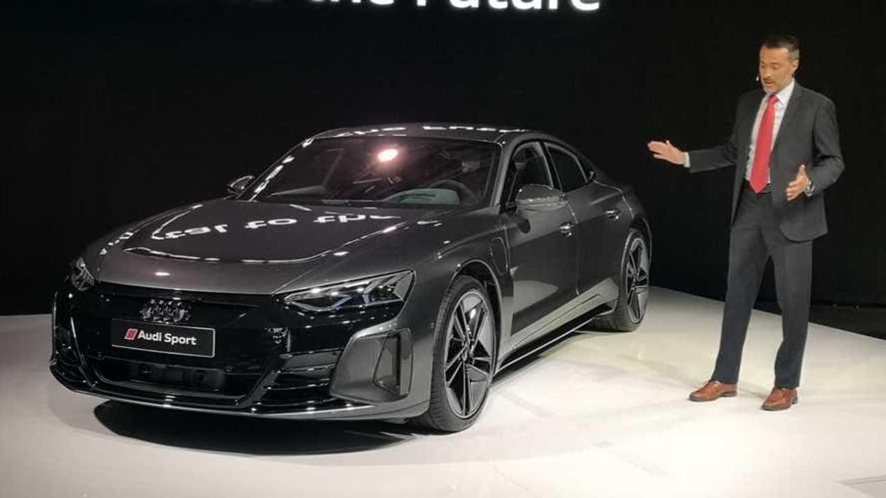 Audi RS E-Tron GT public debut in Sofia