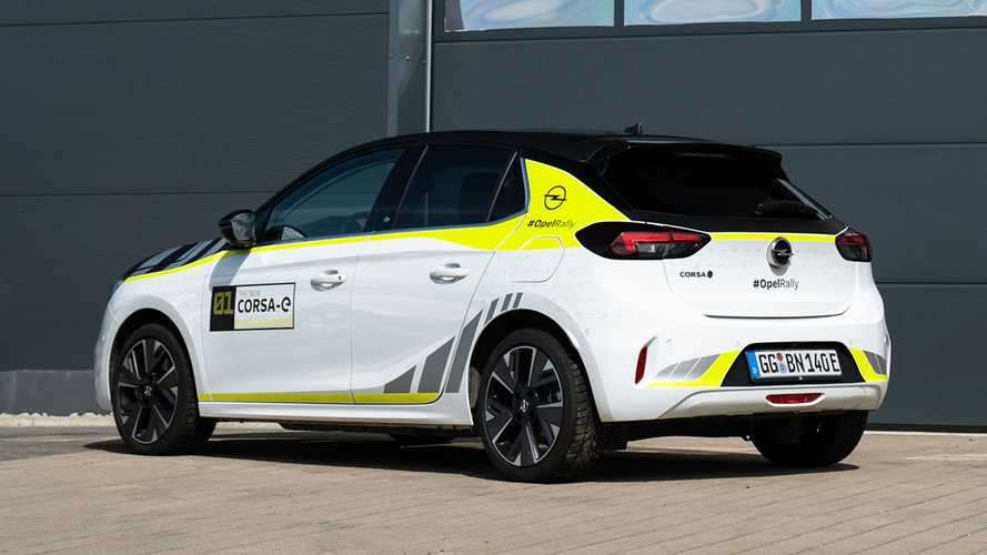 Opel Corsa-e, il kit ufficiale per farla diventare un'auto da rally