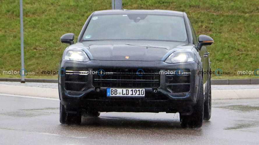 Porsche Cayenne Coupe Spy Photos
