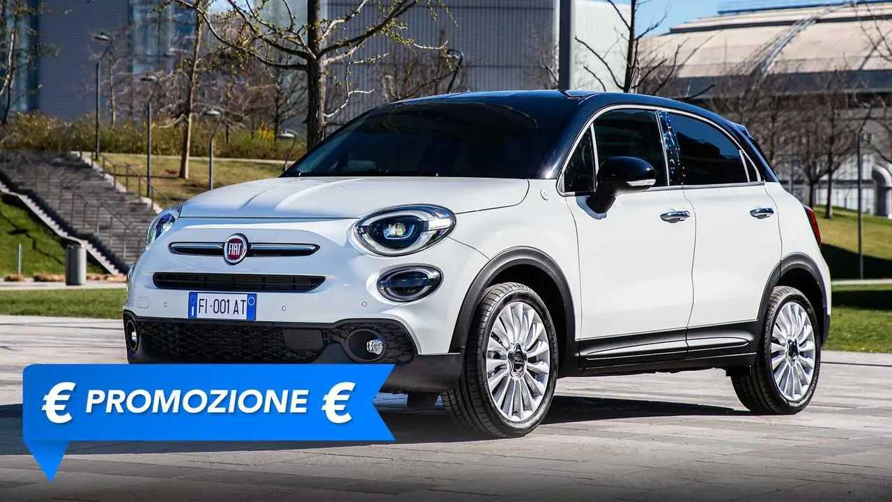 Fiat 500X, promozione maggio 2021