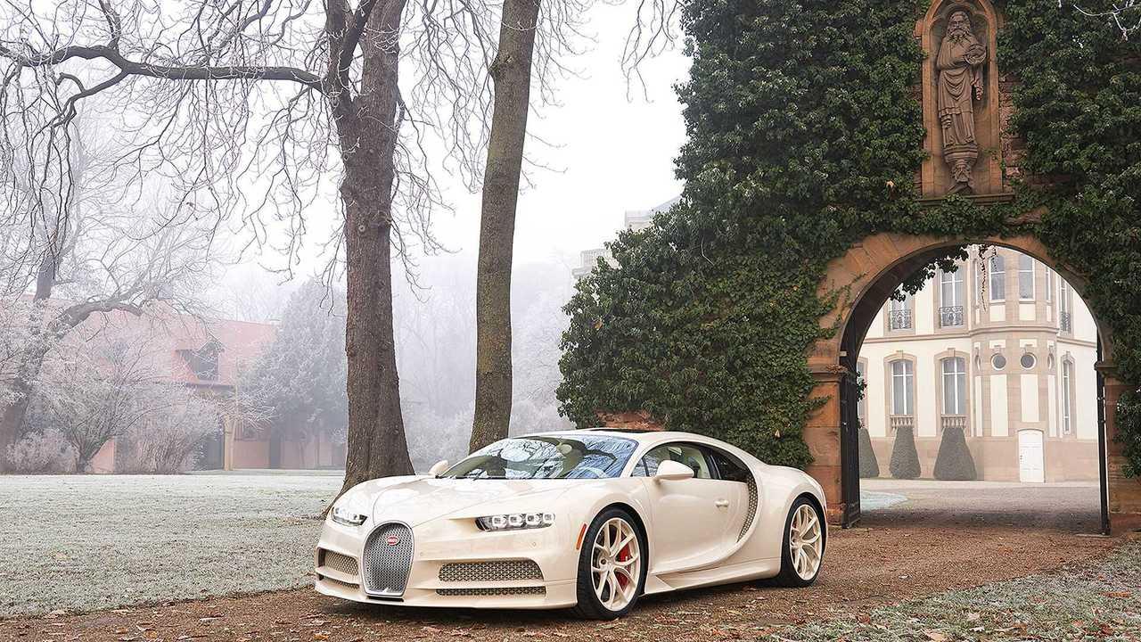 Bugatti Chiron habillé par Hermès Einzelstück für Unternehmer und Investor