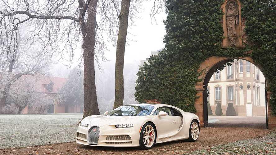 Bugatti Chiron habillé par Hermès: Einzelstück nach Kundenwunsch
