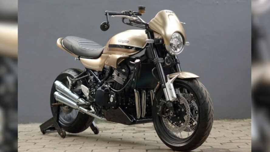 Golden Beauty: Katros Garage Kawasaki Z900RS