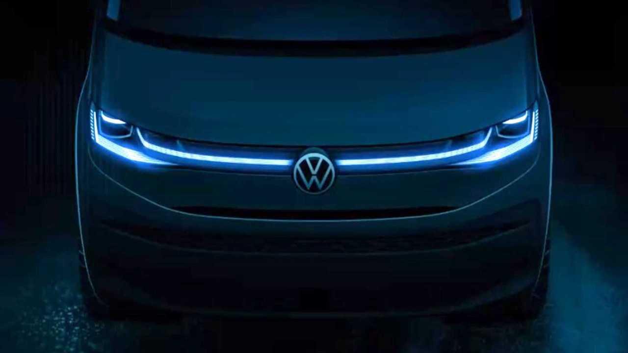 Erste Teaser-Bilder des VW T7 und Amarok