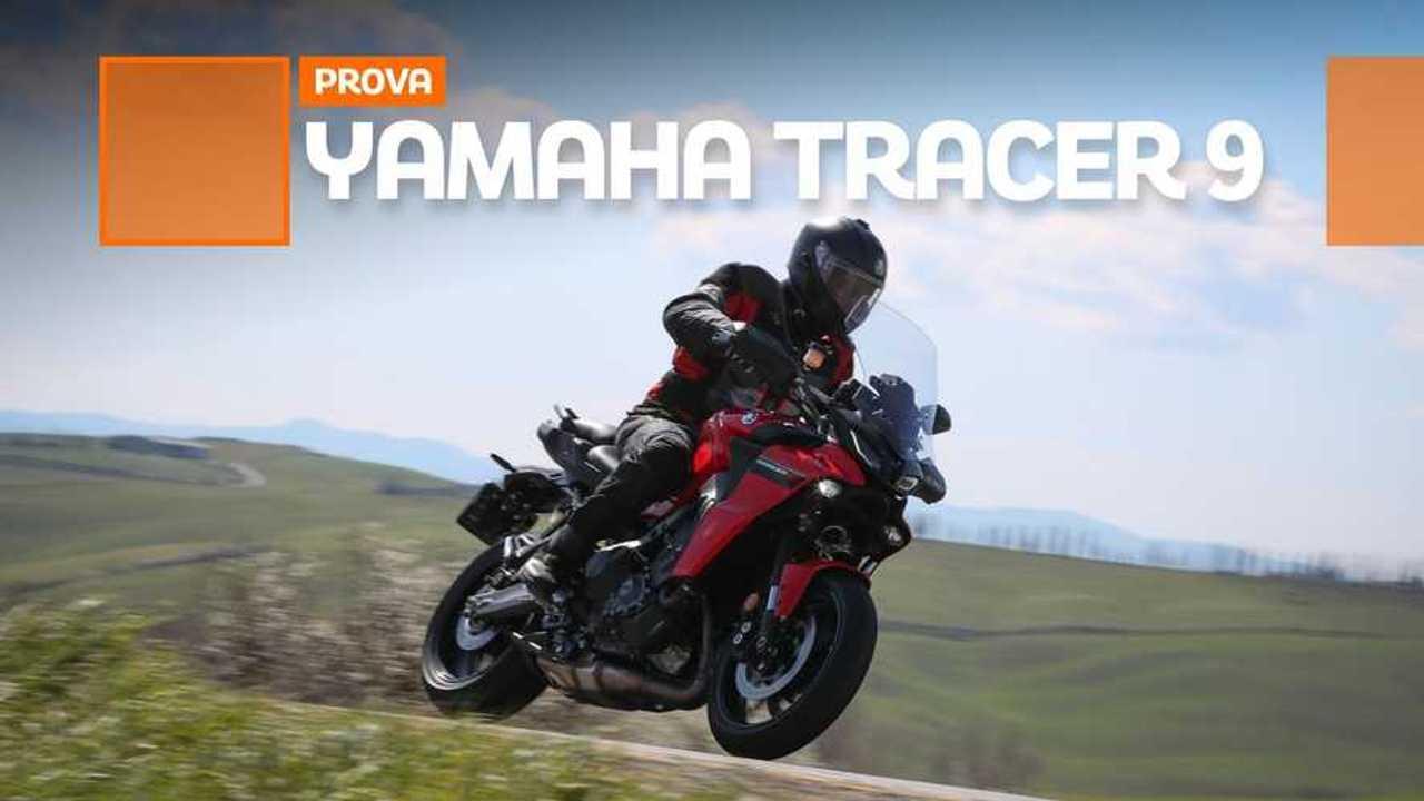 PROVA YAMAHA TRACER9