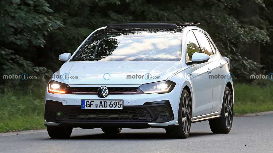 Volkswagen Polo GTI restyling, le foto spia