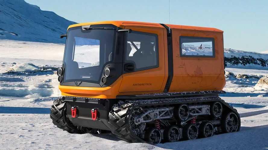 Venturi Antarctica: Elektro-Kettenfahrzeug für die Antarktis