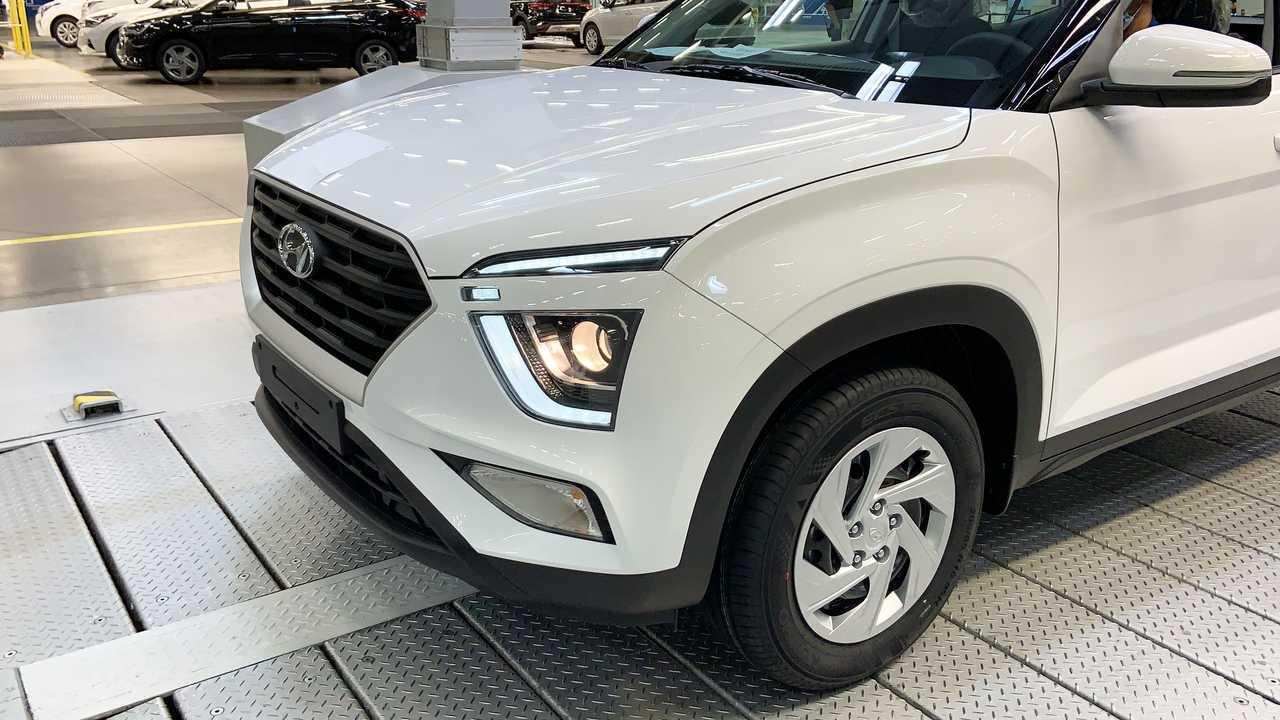 Производство Hyundai Creta второго поколения на заводе в Санкт-Петербурге