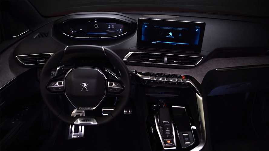 Novo Peugeot 3008 2022 tem interior revelado em teaser
