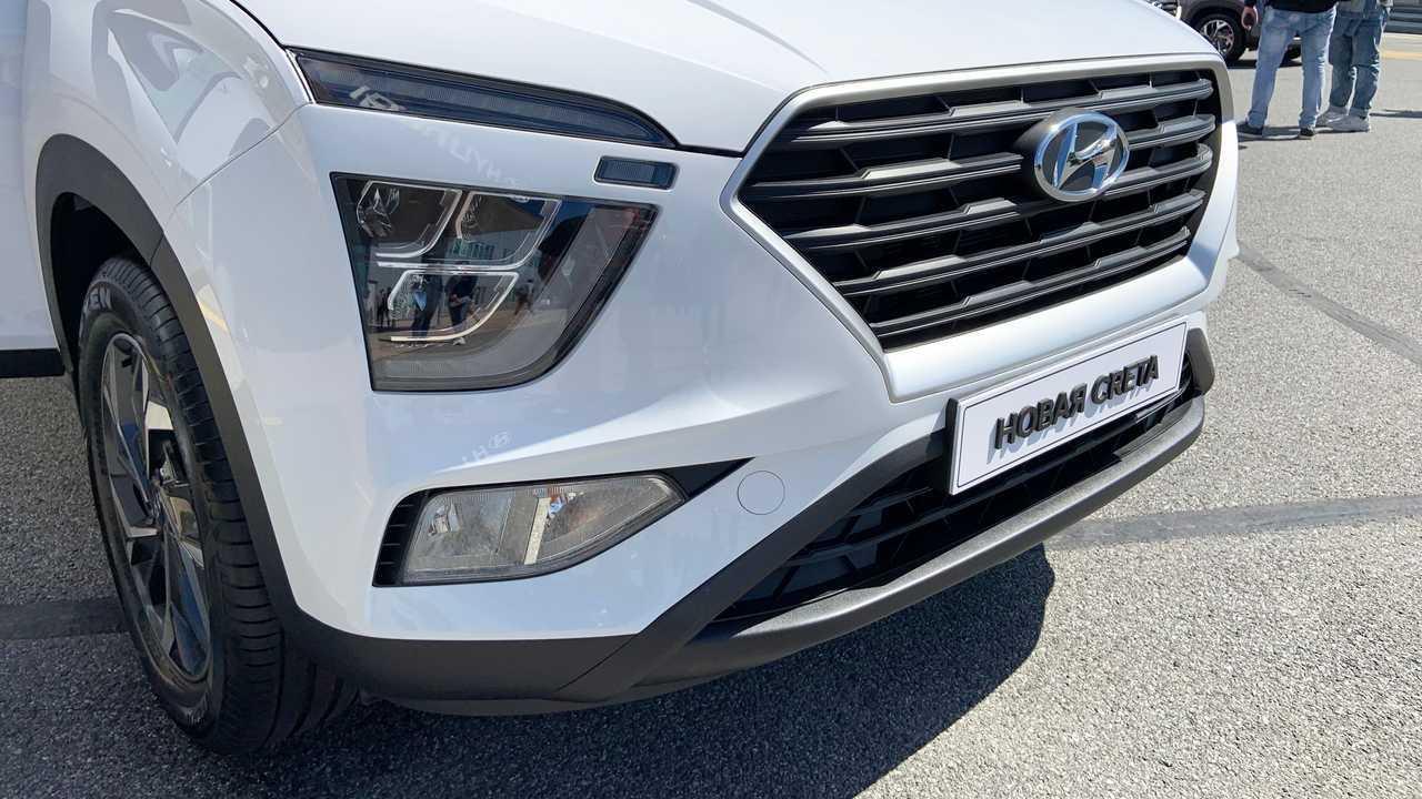 Hyundai Creta второго поколения для России, LED-оптика