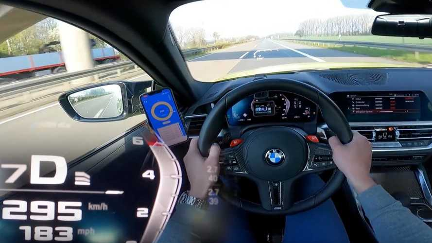 New BMW M4 Sounds Angry During Top Speed Autobahn Blast