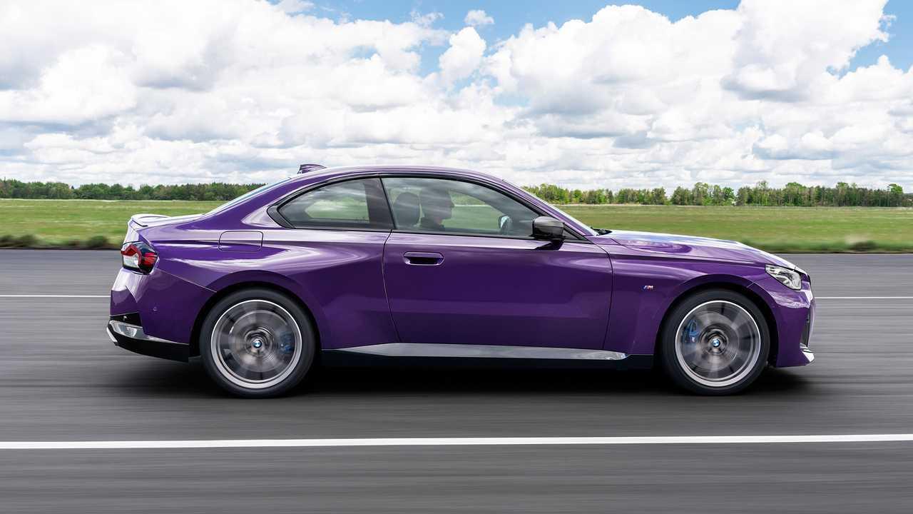 2022 BMW M240i Exterior Side Profile