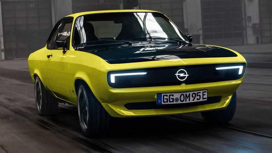 L'Opel Manta GSe ElektroMOD se dévoile !