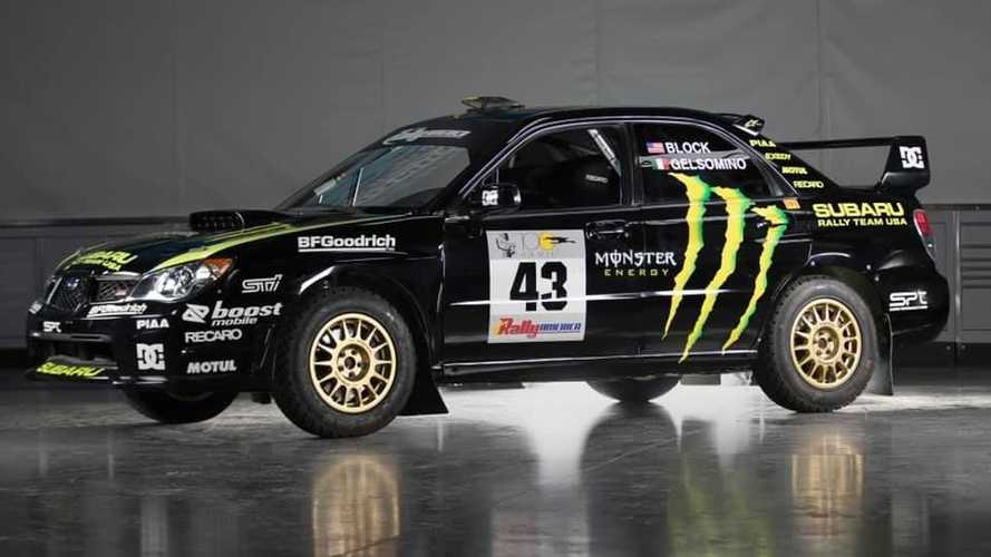 Este Subaru WRX STI de 2002, conducido por Ken Block, sale a subasta