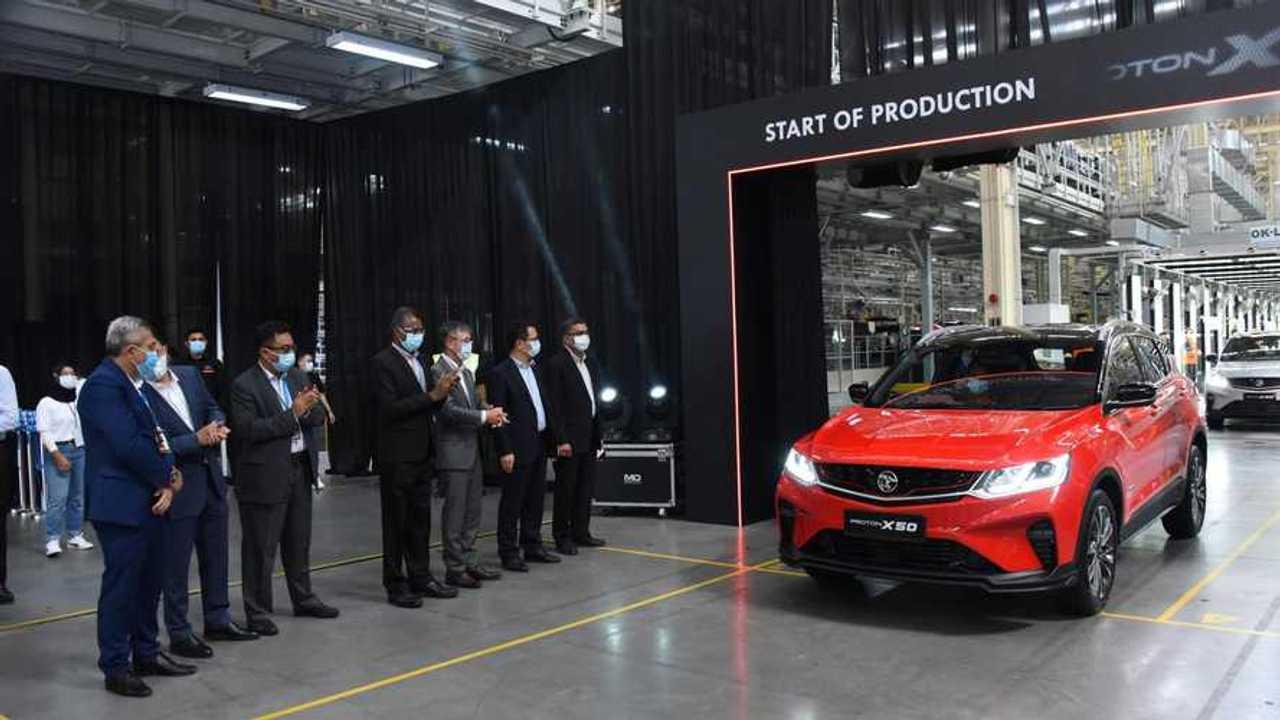 Peluncuran perdana Proton X50