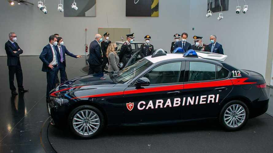 Alfa Romeo Giulia for the Carabinieri